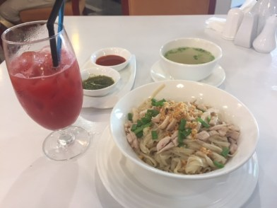 One of my favourite local dishes: Sichet Noodles